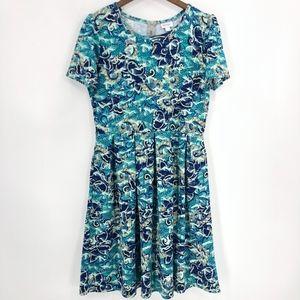 Lularoe Size 2XL Amelia Paisley Dress